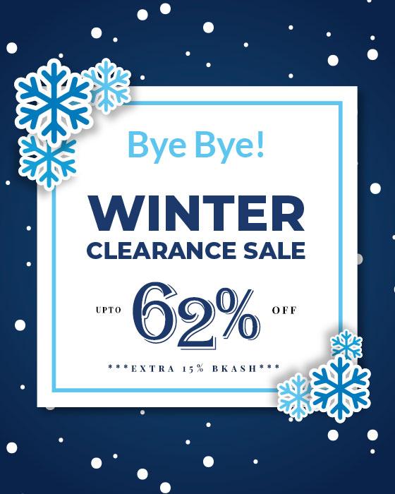 Bye Bye Winter Clearance SALE!