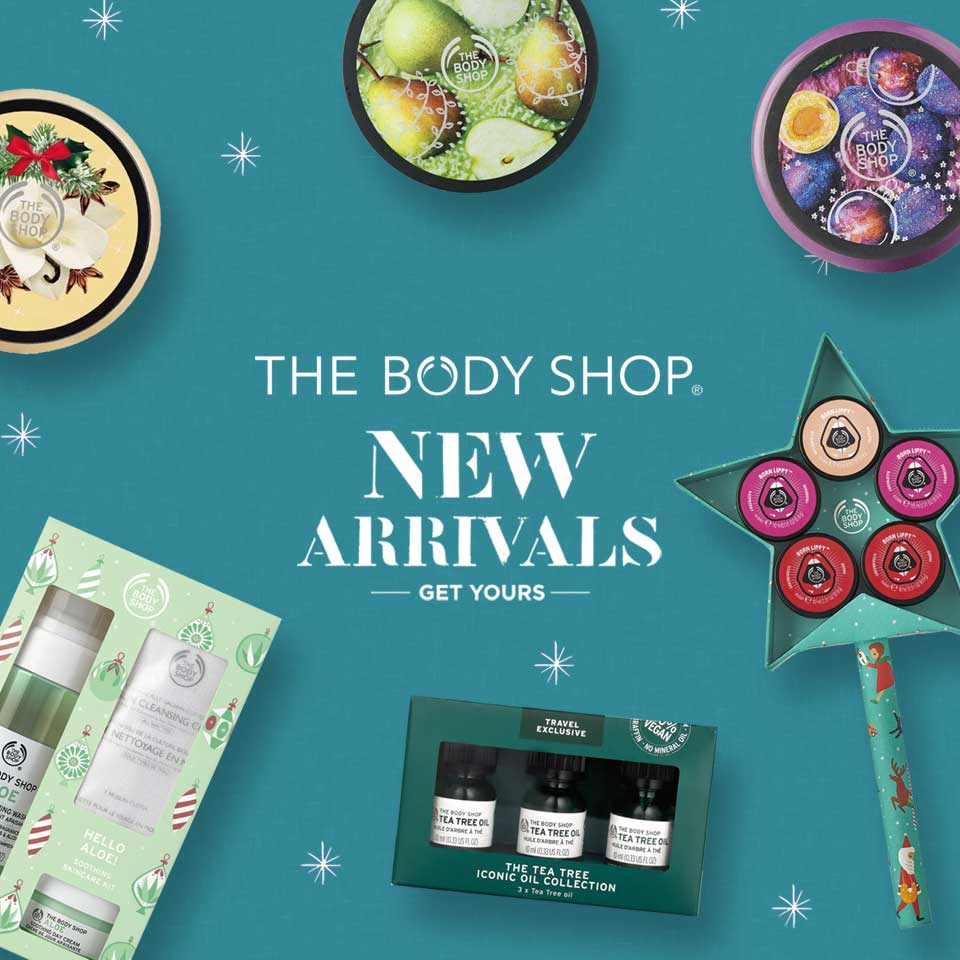 The Body Shop NEW ARRIVALS!