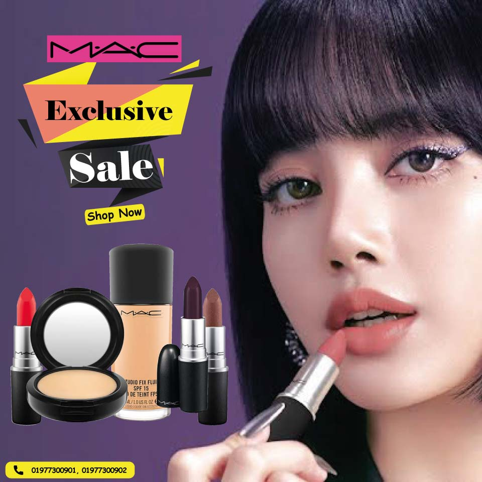 Exclusive sale on M.A.C!!!