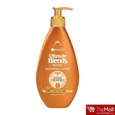 Garnier Ultimate Blends Honey Treasure Body Lotion Very Dry Skin 400ml
