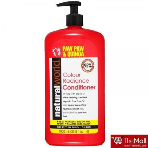 Natural World Paw Paw & Quinoa Colour Radiance Conditioner 1000ml