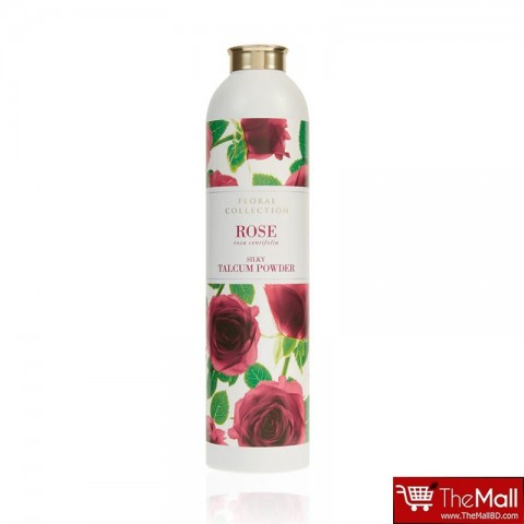 M & S Floral Collection Rose Silky Talcom Powder 200g