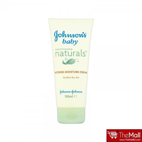 Johnson's Baby Soothing Naturals Intense Moisture Cream Tube 100ml
