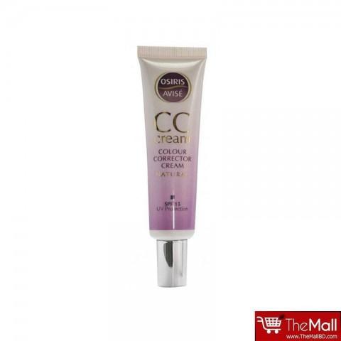 Xpel Osiris Avise Colour Corrector Cream SPF 15 UV Protection - Natural 35ml