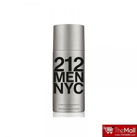 Carolina Herrera 212 Men NYC Deodorant Spray 150ml