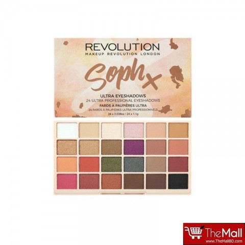 Makeup Revolution Soph X 24 Ultra Eyeshadow Palette