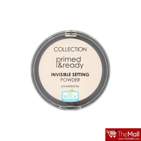 Collection Primed & Ready Invisible Setting Powder 01
