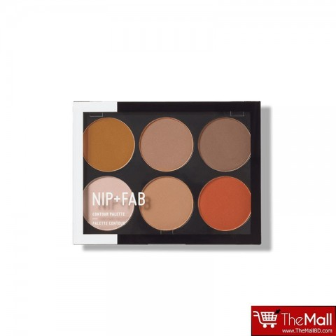 NIP+FAB Make Up Contour Palette 20g - Dark 03