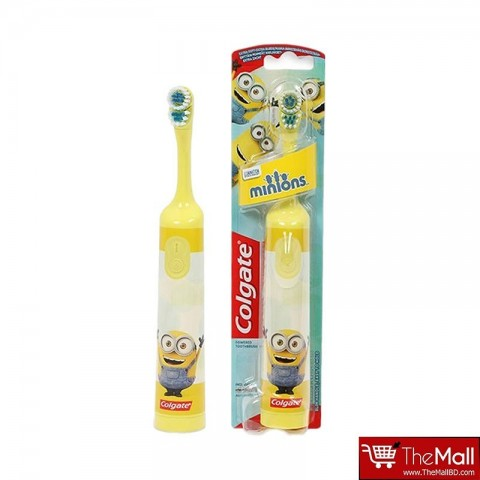 Colgate Minions Extra Soft Battery Toothbrush - Yellow