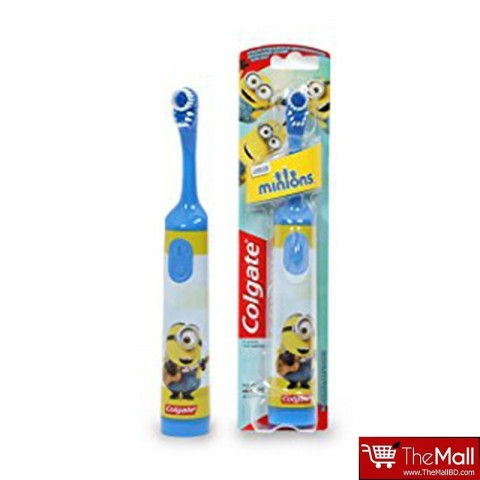 Colgate Minions Extra Soft Battery Toothbrush - Blue