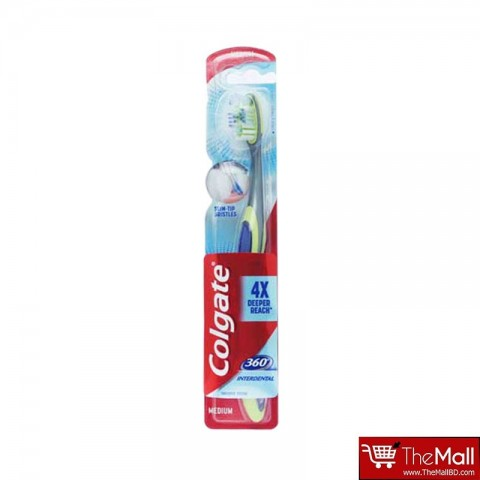 Colgate 360 Interdental Toothbrush - Medium