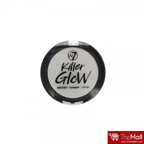 W7 Killer Glow Highlight Shimmer Strobe Powder - Crime Sheen