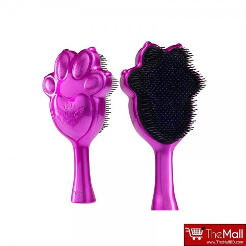 Pet Angel Detangling Grooming Brush - Metalic Fuchsia