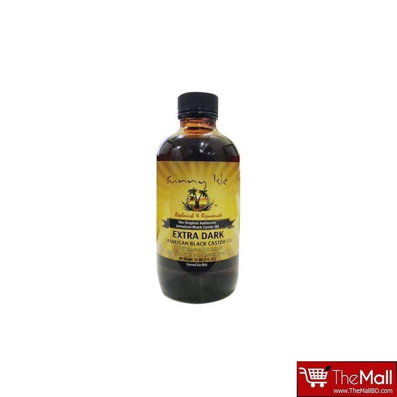 Sunny Isle Extra Dark Jamaican Black Castor Oil 118.3ml ( 4fl )