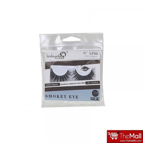 London Pride Smokey  Eye 3D Silk Lashes  LP62