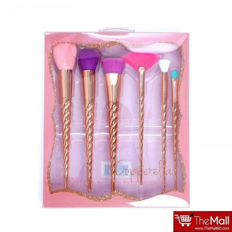 Beauty Creations Copperella 6 pc Brush Set