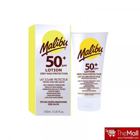 Malibu Very High Sun Protection SPF 50+ Lotion  150ml