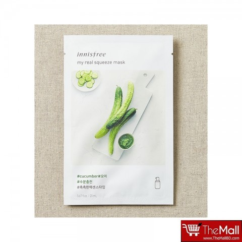 Innisfree my Real Squeeze Mask 20ml - Cucumber