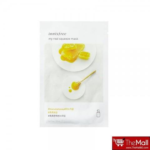 Innisfree My Real Squeeze Mask 20ml -  Manuka Honey