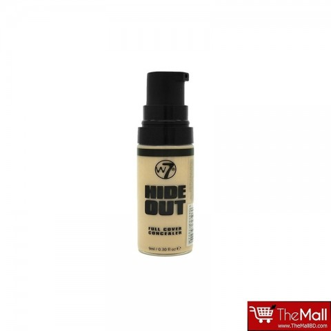 W7 Hide Out Full Cover Concealer 9ml - Light