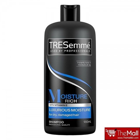 TRESemmé Moisture Rich Luxurious Moisture Shampoo For Dry , Damaged Hair 900ml