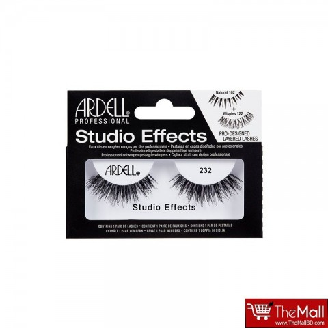 Ardell Studio Effects Lashes - 232 Black