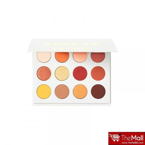Colour Pop Pressed Powder Shadow Palette - Yes, Please!