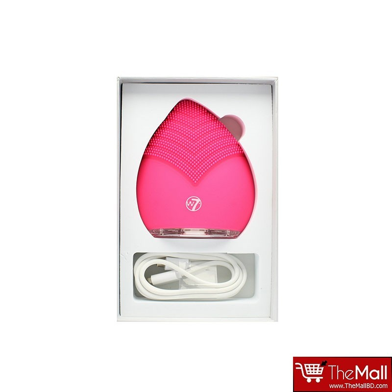 W7 Silicone Sonic Waterproof Cleansing Face Massager