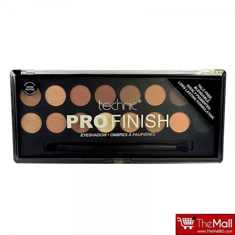 Technic Pro Finish Eyeshadow Palette - Toffee Edition