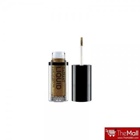 NICKA K Radiant Liquid Eye Shadow - NRE14 Golden Gemma