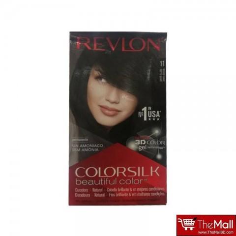 Revlon ColorSilk Beautiful 3D Hair Color - 11 Negro Suave (Soft Black)