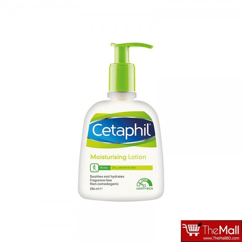 Cetaphil Moisturising Lotion For Dry, Sensitive Skin 236ml