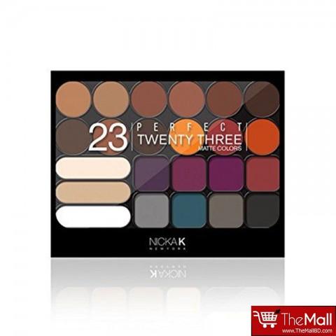 Nicka K Perfect Twenty Three Matte Colors - AP036