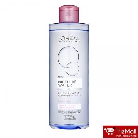 L'Oreal Micellar Water Normal to Dry Sensitive Skin 400ml
