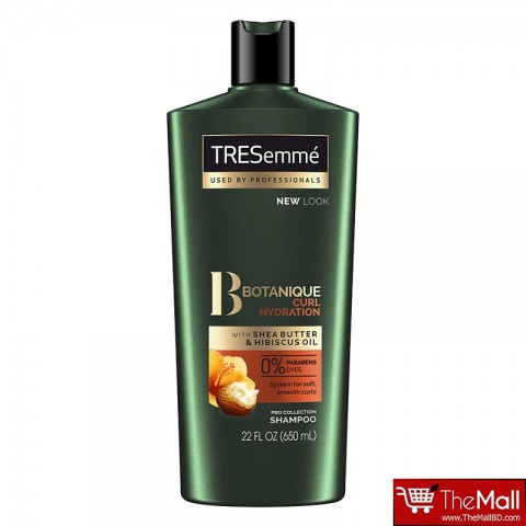 TRESemme Botanique Curl Hydration Shampoo For Soft,Smooth Curls Hair 650ml