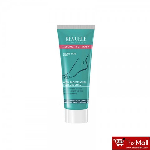 REVUELE Lactic Acid+ Urea Peeling Feet Mask 80ml