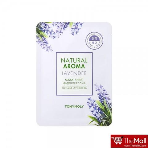 Tonymoly Natural Aroma Lavender Mask Sheet 21g