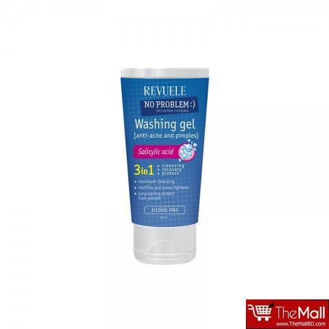Revuele No Problem Washing Gel Anti-Acne and Pimples with Salicylic Acid 200ml