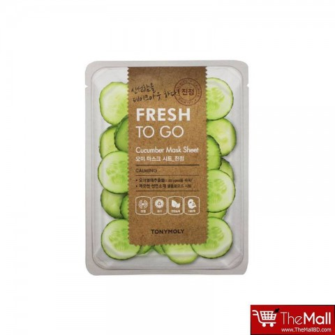 Tonymoly Fresh To Go Cucumber Mask Sheet
