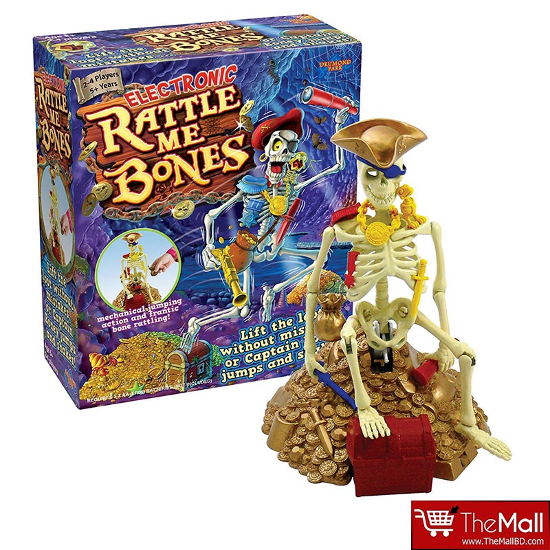 Electronics Rattle Me Bones Game