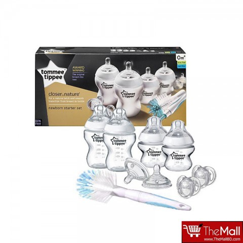 Tommee Tippee Closer To Nature Bottle Starter Kit - Newbron (4507)