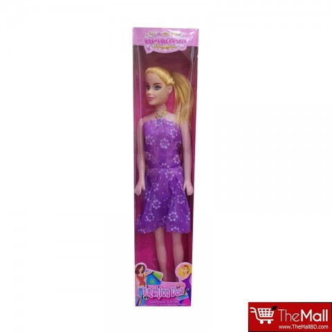 Princess Fashion Barbie Doll - Purple