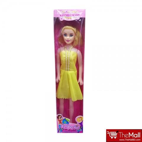 Princess Fashion Barbie Doll - Yellow