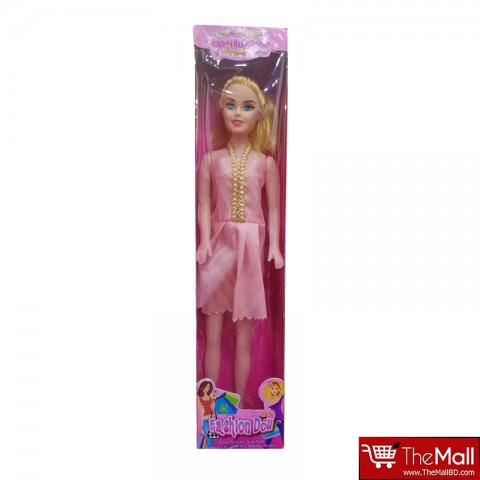 Princess Fashion Barbie Doll - Light Pink