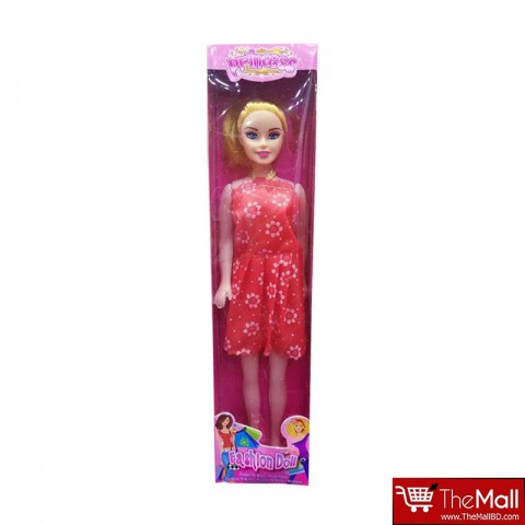 Princess Fashion Barbie Doll - Red