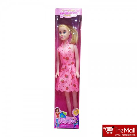 Princess Fashion Barbie Doll - Pink
