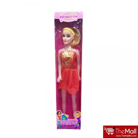 Princess Fashion Barbie Doll - Dark Orange