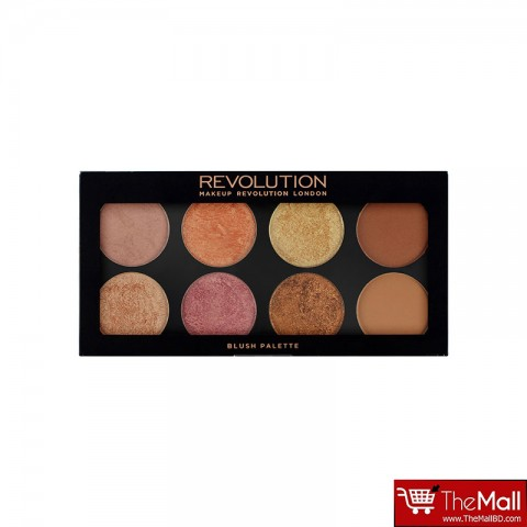 Makeup Revolution Blush Palette Golden Sugar 2 Rose Gold