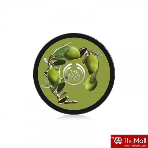 The Body Shop Olive Exfoliating Cream Body Scrub 50 ml