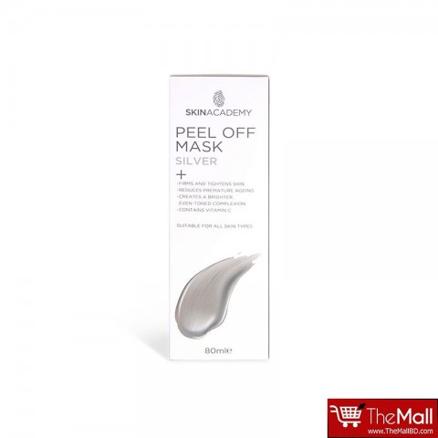 Skin Academy Peel Off Mask 80ml - Silver